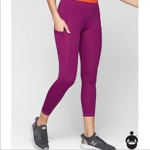 Athleta Up for Anything 7/8 Tight in Pink